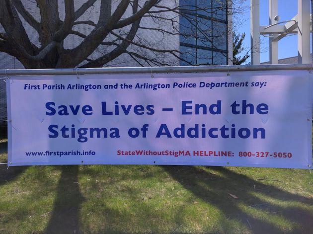 save lives - end the stigma of addiction